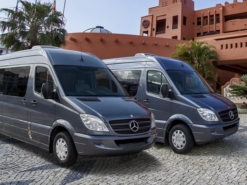 Minibús para Traslados desde Aeropuertos Tenerife