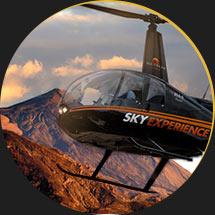 Excursión Privada Helicóptero Tenerife